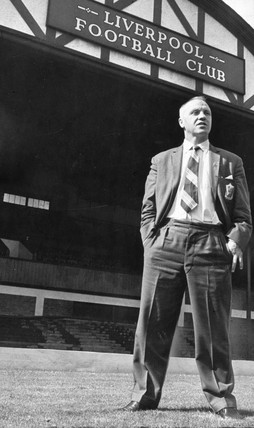 Bill Shankly, manager of Liverpool Football Club, August 1964.