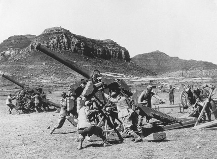 French forces in Abyssinia, 10th November 1935.
