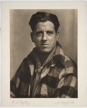 Portrait of Arthur Clive Banfield, FRPS, 1928.