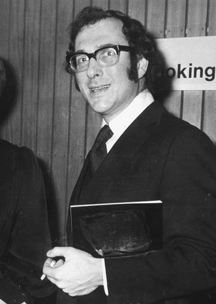 Harold Pinter, writer and director, March 1972.