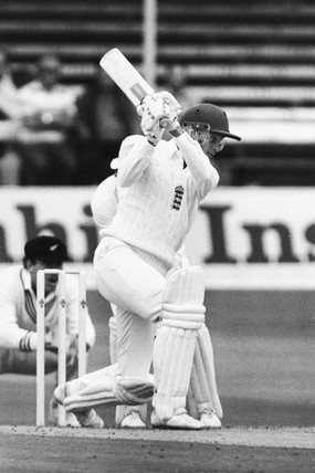David Gower, England cricketer, c 1980s.