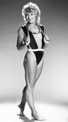 Shirley Strong, British athlete, January 1986.