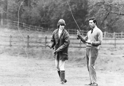 Caroline Worsley and Prince Charles, May 1979.