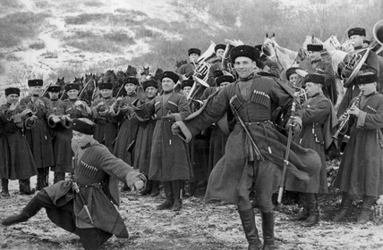 Cossacks of the Red Army, February 1938.