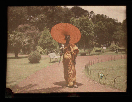 'Buddhist Priest, Zoological Gardens'.