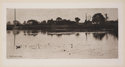'The Fringe of The Mere', 1890.