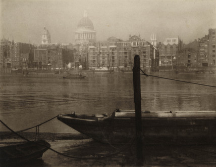 'Bankside Southwalk', late 19th-early 20th century.