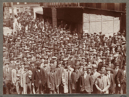 'A Few of the Employees...', 1916.