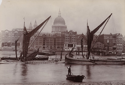 The Thames and St Paul's Cathedral.