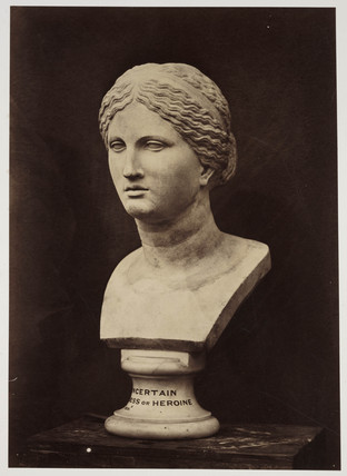 'Uncertain Goddess as Heroine', 1854-1858.