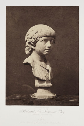 'Portrait of a Roman Boy (Knight Collection)', 1854-1858.