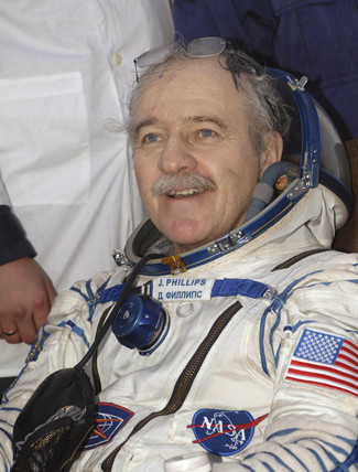 Flight Engineer John Phillips, American astronaut, 10 October 2005.