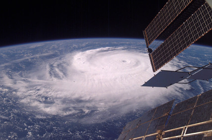 Hurricane from the International Space Station, c 2000-2005.