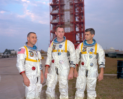 Apollo 1 astronauts, USA, c 1967.