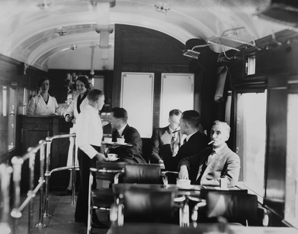 Buffet car LMS no. 40, 1932.