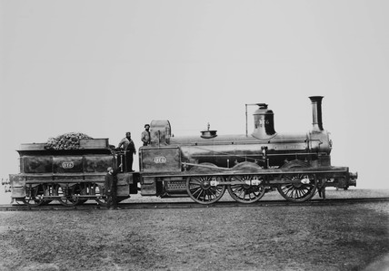 Stockton & Darlington 0-6-0 no. 175 'Contractor'.