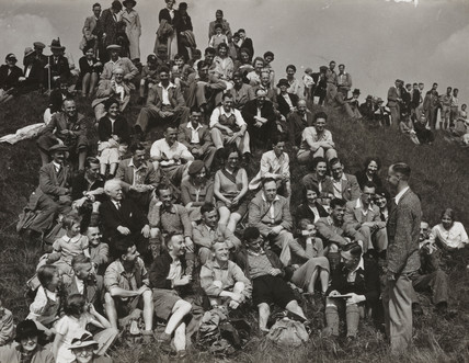 Ramblers Assocation, West of England Rally, 20 June 1937.