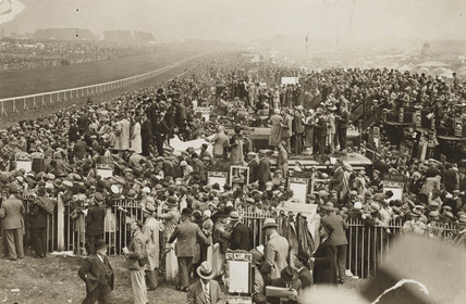 Epsom Racecourse, Derby Day, 2 June 1932.