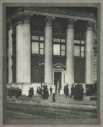 'The Knickerbocker Trust Company', New York, c 1910.