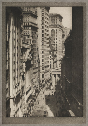 'The Stock Exchange', New York, c 1910.