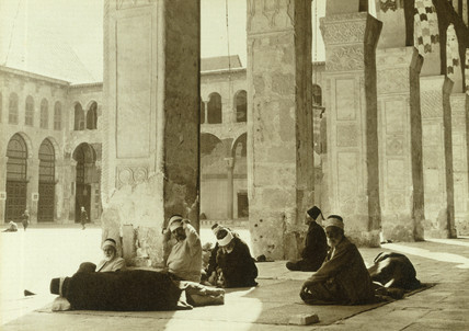The Great Mosque, Damascus, 1932.