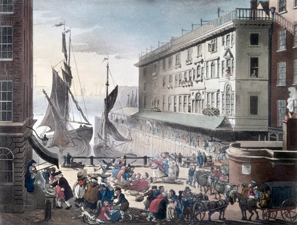 Billingsgate Market, London, 1808.