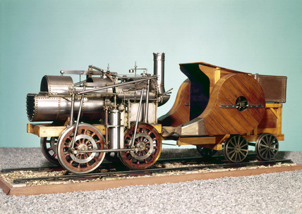 Seguin's Locomotive, 1829.