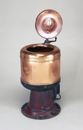 Electric spin dryer, 1929.