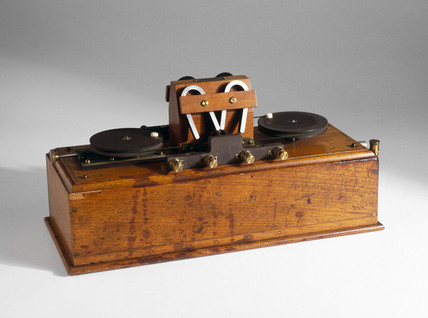 Marconi magnetic radio wave detector, 1902.