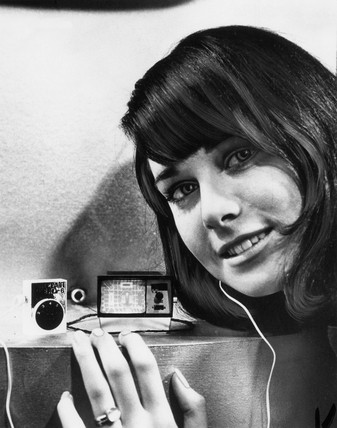 'Worlds smallest TV', 1966.