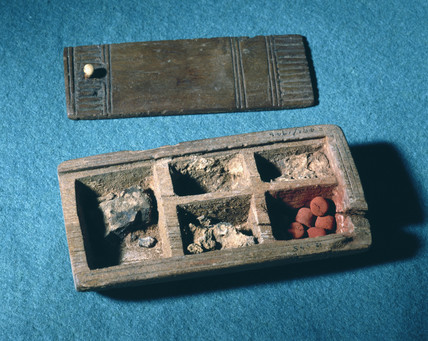 Ancient Egyptian cosmetics.
