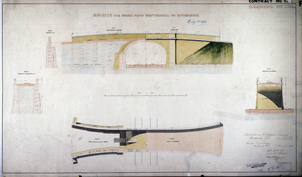 'Bridge for Road from Pattishall to Bugbrook', 1837.
