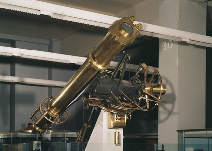 View of the 'Oxford heliometer' , 1849.