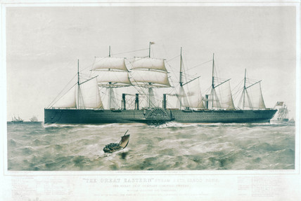 'The Great Eastern', 1859.