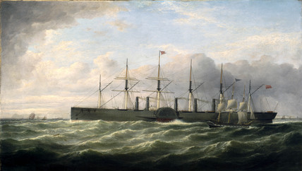 Ps 'Great Eastern', c 1859.
