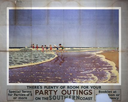 'Party Outings', SR poster, 1923-1947.