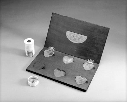 Magnetic toy, 1765. Made by George Adams of