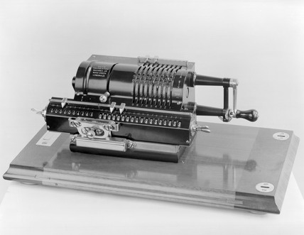 'Britannic' calculating machine.