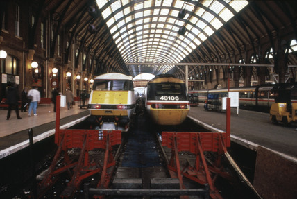 King's Cross Station, London, 1993.