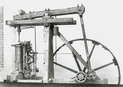 Boulton and Watt Rotative Beam Engine, 1788.