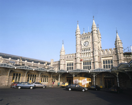 Temple Meads Station, Bristol.