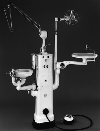 Rathbone dental unit, 1946-1955.