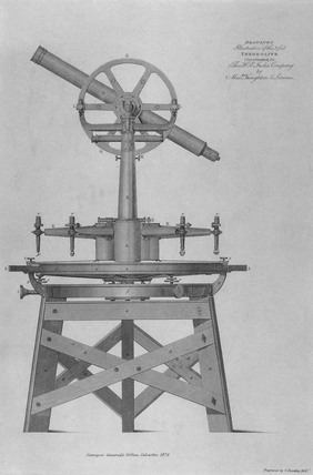 Everest's three-foot theodolite made by Troughton & Simms, 1825-1830.