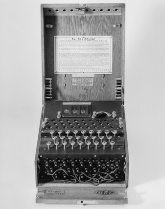'Enigma' cypher machine, c 1930s.