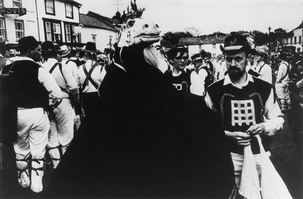 The Thaxted Unicorn and Morris Dancers, 1967.
