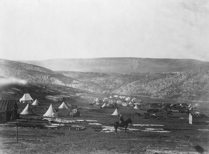 Cavalry Camp, Balaclava, April 1856.