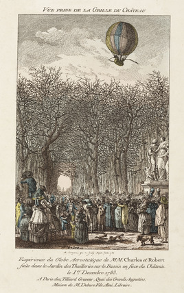'View from the Gates of the Palace', 1 December 1783.