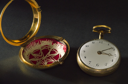 Pocket watch belonging to J C Lettsom. 1774-1802.