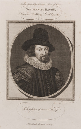 Francis Bacon, English philosopher, c 1600s.