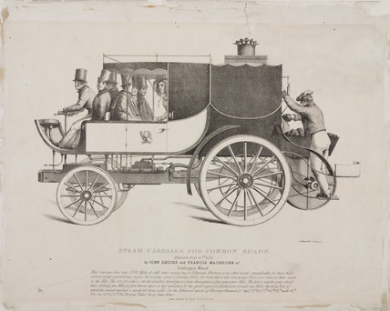 'Steam Carriage for Common Roads', 1833.